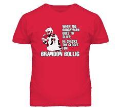 Littlemisstshirt - Brandon Bollig Chicago Chi Town Fighter Boogeyman Hockey Tshirt
