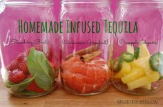 ... infused tequila | Entertaining | Pinterest | Tequila and How To Make