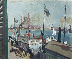 Raoul Dufy, le port du Havre, 1906