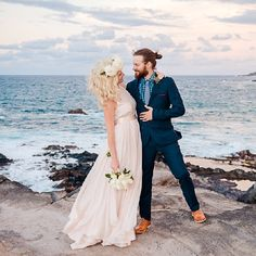 A stunning, love-filled, bohemian elopement on Maui with a CRAZY beautiful engagement ring to boot. {Mariah Milan Photography}