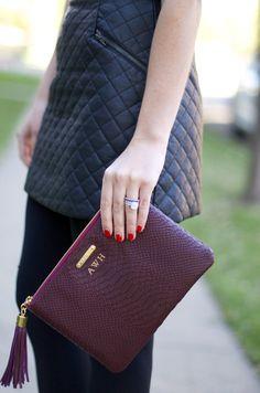 GiGi New York : Dallas Wardrobe Fashion Blog : All In One Clutch
