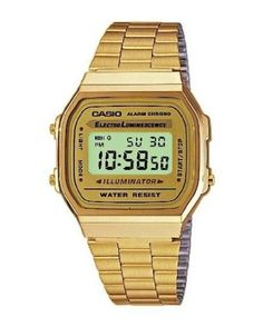 Casio Dress Digital Mens Watch A168WG9:
