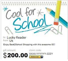 $200 Amazon.com Back-To-School Giveaway!