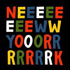 New York #typography