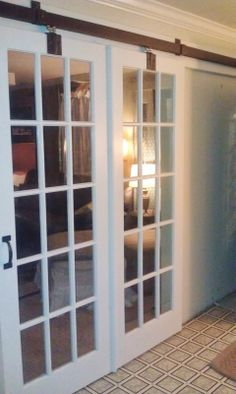 1000 images about puertas divisorias on pinterest barn for French barn doors