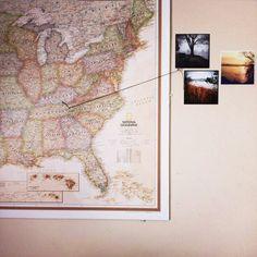 map idea bedroom decoration DIY idea
