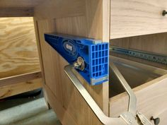 Install Full Extension Drawer Slides - Easy DIY - The Definitive Guide My Furniture, Furniture Projects, Miter Saw Table, Sharp Pencils, Truck Bed Camper, Kreg Jig, Wood Screws, Dresser Drawers, Fun Projects