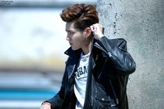 Wu Yi Fan, Kris Wu, Cool Girl, Hip Hop, Dreadlocks, Leather Jacket, Punk, Asian, Hair Styles