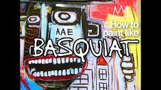 How to paint like Jean-Michel Basquiat Art History Lessons, Art Lessons For Kids, Art Lessons Elementary, Jean Basquiat, Jean Michel Basquiat Art, Summer Camp Art, Art Education Resources, Art Programs, Famous Artists