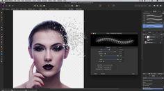 Affinity Photo - Disintegrate (quick tutorial)