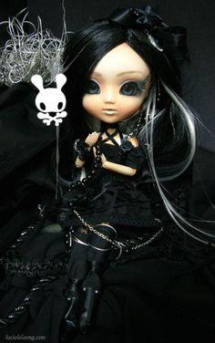 Lilith +Black Enchantress+ 1 by lets-play on DeviantArt Dark Gothic Art, Gothic Fantasy Art, Gothic Fairy, Big Eyes Artist, Gothic Pictures, Cartoon Girl Images, Cute Baby Dolls, Gothic Dolls, Goth Art