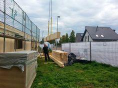 MCB Holzhausbau - Ach ja.. Carport bekommt das Massivholzhaus ja auch.. Bauplanung gerne mit unserem Holzhaus Architekten Team - http://www.zimmerei-massivholzbau.de