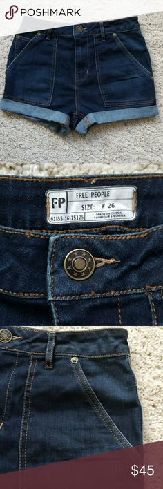 Free People jeans short size 26 NWOT Free People Shorts Jean Shorts