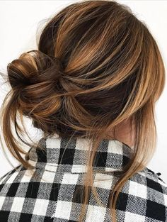 Pinterest: DEBORAHPRAHA ♥️ Honey balayage for brunettes #haircolor #hair