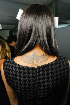 One of the best Isis, winged, black Outline. Egyptian tattoo- tattoo- i really, really like this