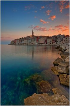 Rovinj, Croatia. Pearl of Istria. I'm sure I will come back here. The perfect place for a family vacation. The old town is a real treasure, but the park extends along the coast, with many beaches, which can tour the bike, it's a big attraction of thi