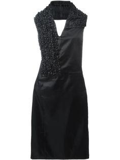 Comme Des Garçons Vintage ruffled halterneck dress