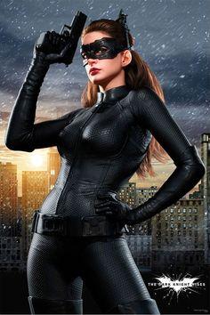 nueva Foto Promocional de CATWOMAN  en The Dark Knight Rises