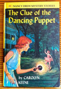 Items similar to Nancy Drew, The Clue of the Dancing Puppet, Carolyn Keene, Vintage 1962 Book on Etsy Nancy Drew Mystery Stories, Nancy Drew Mysteries, Mystery Books, Cozy Mysteries, I Love Books, Good Books, Books To Read, My Books, Detective