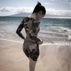 Body Painting and tattoos Posted by Sifu Derek Frearson Maori Tattoos, Irezumi Tattoos, Hot Tattoos, Black Tattoos, Body Art Tattoos, Girl Tattoos, Tattos, Hot Tattoo Girls, Tattoed Girls