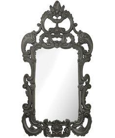 Rocco Black Wall Mirror
