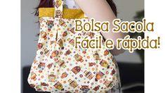 Tia Lili na TV: Bolsa Sacola (com molde!)                                                                                                                                                     Mais