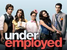 underemployed (: