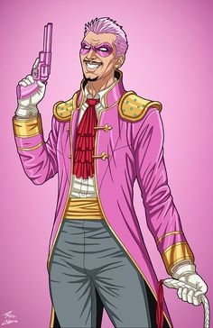 El Flamingo commission by phil-cho on DeviantArt Marvel Characters, Marvel Heroes, Marvel Dc, Marvel Villains, Purple Rain Cover, Nightwing And Batgirl, Avengers Coloring Pages, Justice League Dark, Superhero Design