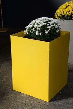 Pflanzenkübel, verfügbar in jeder Grösse, Roh oder mit RAL Farbe. Design by Christoph Aeschbacher.