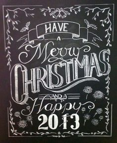 Christmas in the City Holiday Chalk Art | Living rooms, Christmas ...