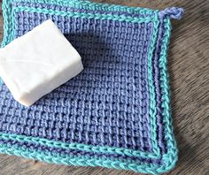 After making a washcloth in Tunisian Simple Stitch, I promise you will swear off all other washcloths.