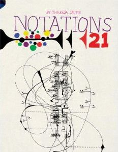 We're endlessly fascinated by the cross-pollination of the senses, particularly in visualizing music. That's exactly what Notations 21 explores. Inspired by John Cage's iconic 1968 Notations and originally released for its 50th anniversary, the ambitious 320-page volume by Theresa Sauer and Mark Batty Publishers reveals how 165 composers and musicians around the world are experiencing, communicating and reconceiving music visually by reinventing notation.