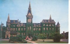 Alma College, St. Thomas, Ontario - where I spent my summers at ballet camp