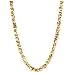 """LAUREN Ralph Lauren 18"""" Braided Chain Necklace ($43) ❤ liked on Polyvore featuring jewelry, necklaces, accessories, extra, chains, gold, braided necklace, polish jewelry, toggle clasp necklace and chain jewelry"""