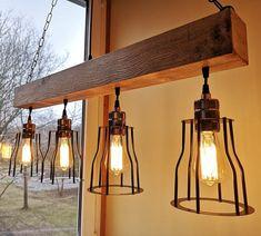 Rustic lighting wood chandelier rustic chandelier rustic   Etsy Rustic Light Bulbs, Rustic Light Fixtures, Rustic Lighting, Wooden Chandelier, Farmhouse Chandelier, Industrial Pendant Lights, Pendant Lighting, Ceiling Lamp, Ceiling Lights