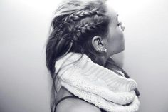 Braids always glam up a casual hairstyle