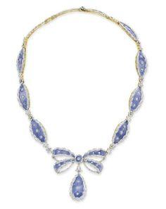 Cartier necklace ca. 1900 via Christie's