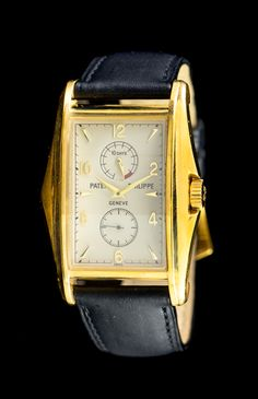 An 18 Karat Yellow Gold Ref. 5100J Wristwatch, Patek Philippe, Circa 2000.