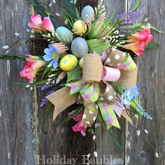 Easter Cross Grapevine by Holiday Baubles