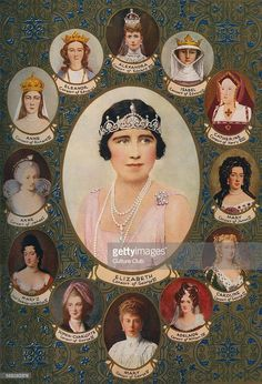June 1911 Bottom of picture is Queen Mary, consort of King George V - Queen Consorts crowned in Westminster Abbey. George Vi, Queen Elizabeth, Queen Mary, Queen Mother, Queen Queen, Royal Family Trees, Elisabeth I, British Royal Families, Royal Family History