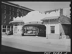 Tulsa, Oklahoma. Gas station converted into a bar 1942