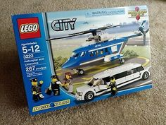 Compare prices on LEGO City Set Helicopter and Limousine from top online retailers. Save money on your favorite LEGO figures, accessories, and sets. Lego City Sets, Lego Sets, Legos, Lego City Helicopter, Modele Lego, Lego Boards, Lego City Police, All Lego, Lego City