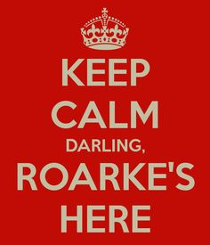 Ahh, Roarke.  If there's such a thing as a dream man, he's it. Romantic, caring, gorgeous, and filthy rich!