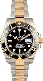 7b3b8ba81d1 Onlinesbuys  Mens Rolex Submariner Two Tone Watch Used Rolex Submariner