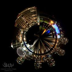 The Night Planets Ferris Wheel, Vancouver, Planets, Fair Grounds, Night, Artist, Photography, Image, Photograph