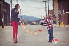 CUTE mom and son Valentine's Day banner pose!! Photography Facebook: https://www.facebook.com/KenneyPhoto
