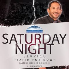 """Join us 6pm TONIGHT at Crenshaw Christian Center with @fredpricejr for his """"NEW"""" SERVICE! #FaithForNow"""