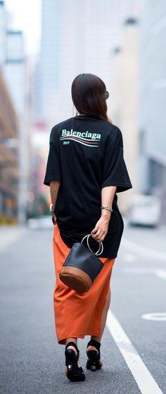 Steal Balenciaga's must-have logo from the boys (or just find it in on Farfetch now) and make it your own.