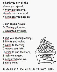 World teachers day poems thank you teacher quotes gift ideas show your appreciation teacher appreciation letterappreciation quotesteachers spiritdancerdesigns Choice Image