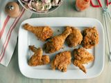 This is amazing fried chicken.  Paula knows she can cook.